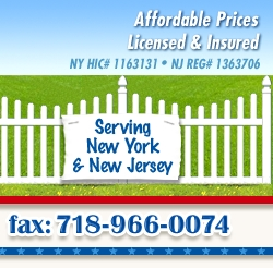 Serving NY & NJ. Fax: 718.966.0074